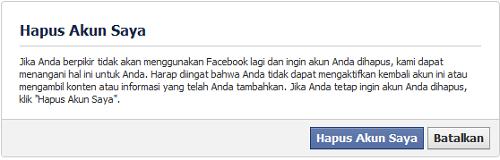 Akun DL FB 1 Cara Hapus Permanen Account Facebook