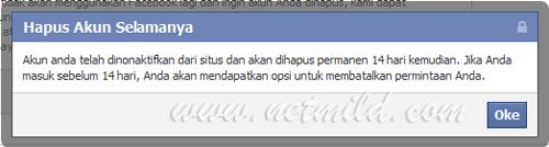Akun DL FB 3 Cara Hapus Permanen Account Facebook